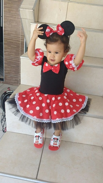 Minnie Vestido Collant P